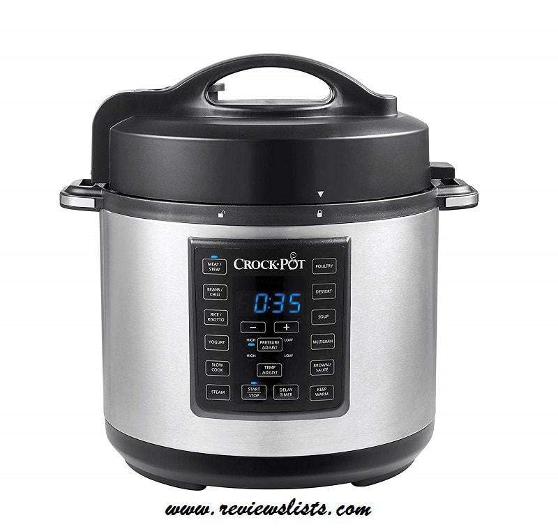 Crock-Pot 6 Qt 8-in-1 Multi-Programmable Slow Cooker